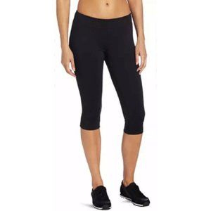 🌮Champion Gear Black Crop Athletic Leggings Large